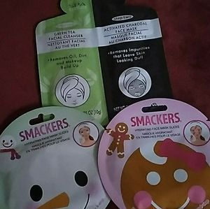 - face masks lot lipsmackers holiday & charc…